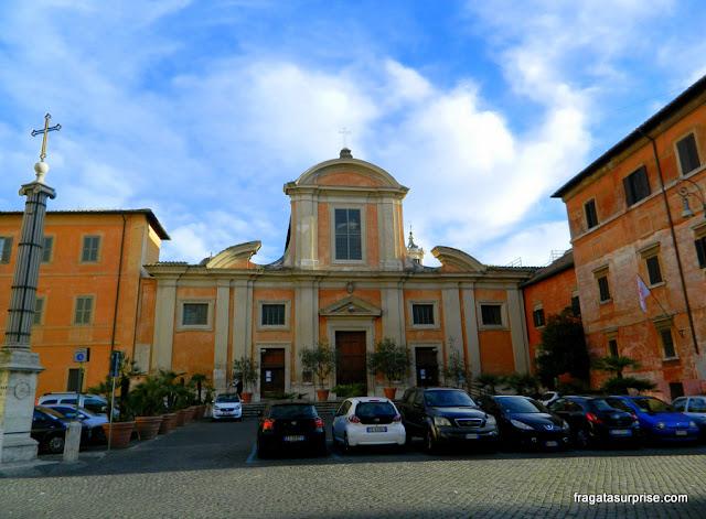 Igreja de San Francesco a Ripa, Trastevere, Roma