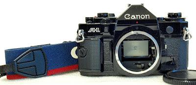 Canon A-1 (Black) Body #644