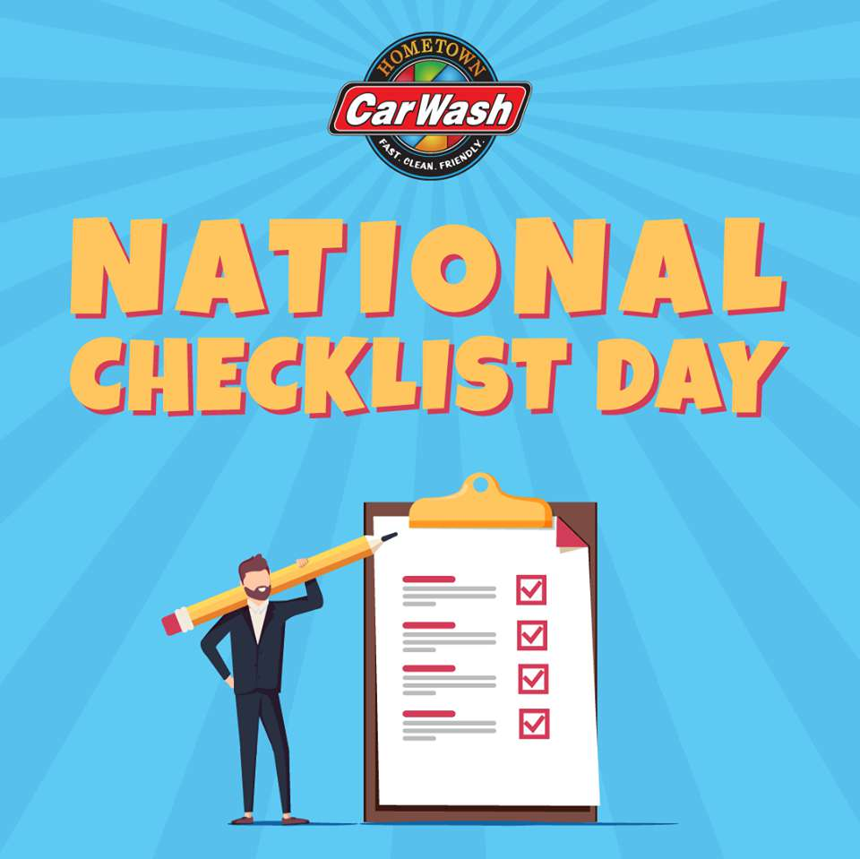 National Checklist Day Wishes Awesome Images, Pictures, Photos, Wallpapers