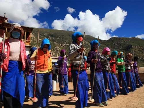 西藏文化-打阿嘎