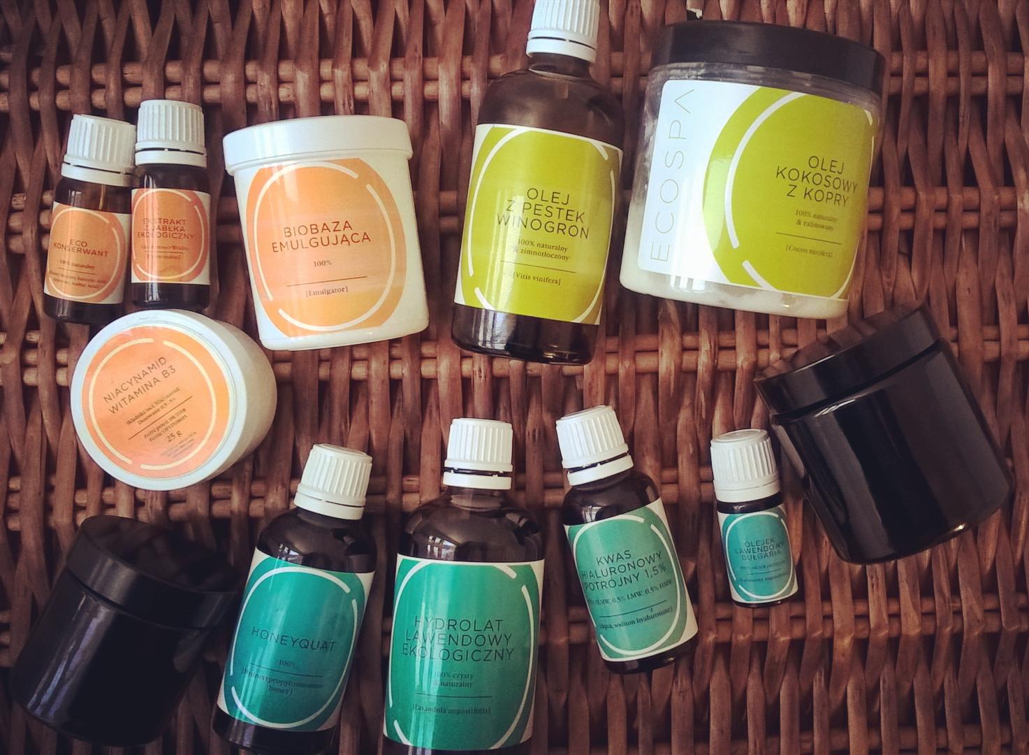 Ecospa opinie Honeyquat, kwas hialuronowy, olej kokosowy, hydrolat
