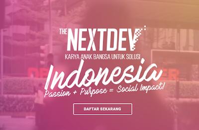 The NextDev 2018 Competition, Punya Ide ? Jangan Dianggurin 7