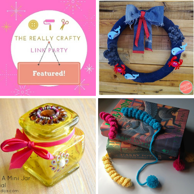 The Really Crafty Link Party #80 featured posts