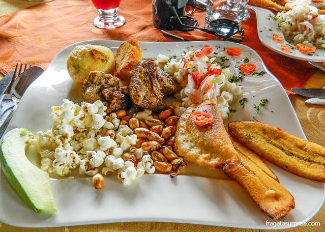 Comida típica do Equador: chugchucaras