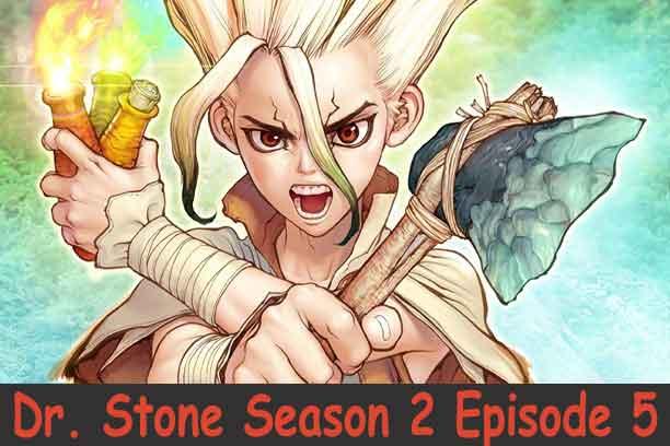 Dr. Stone Season 2 Episode 4