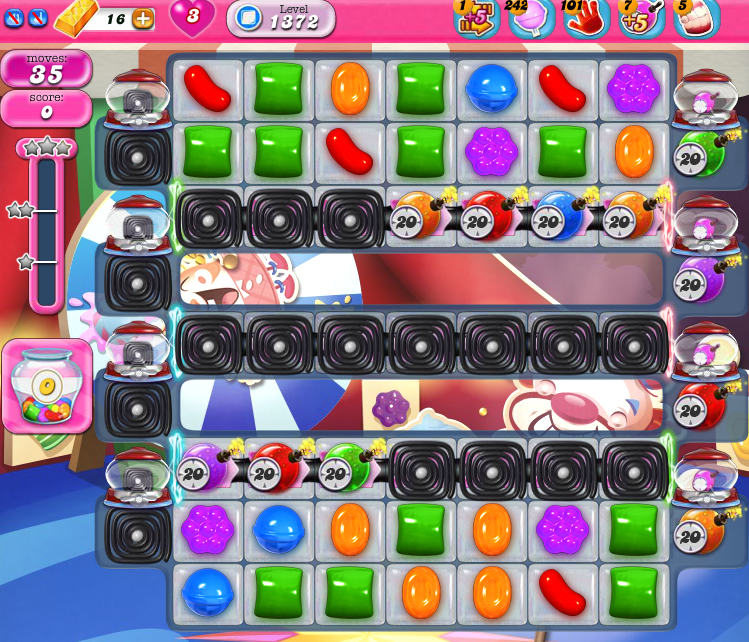 Candy Crush Saga 1357