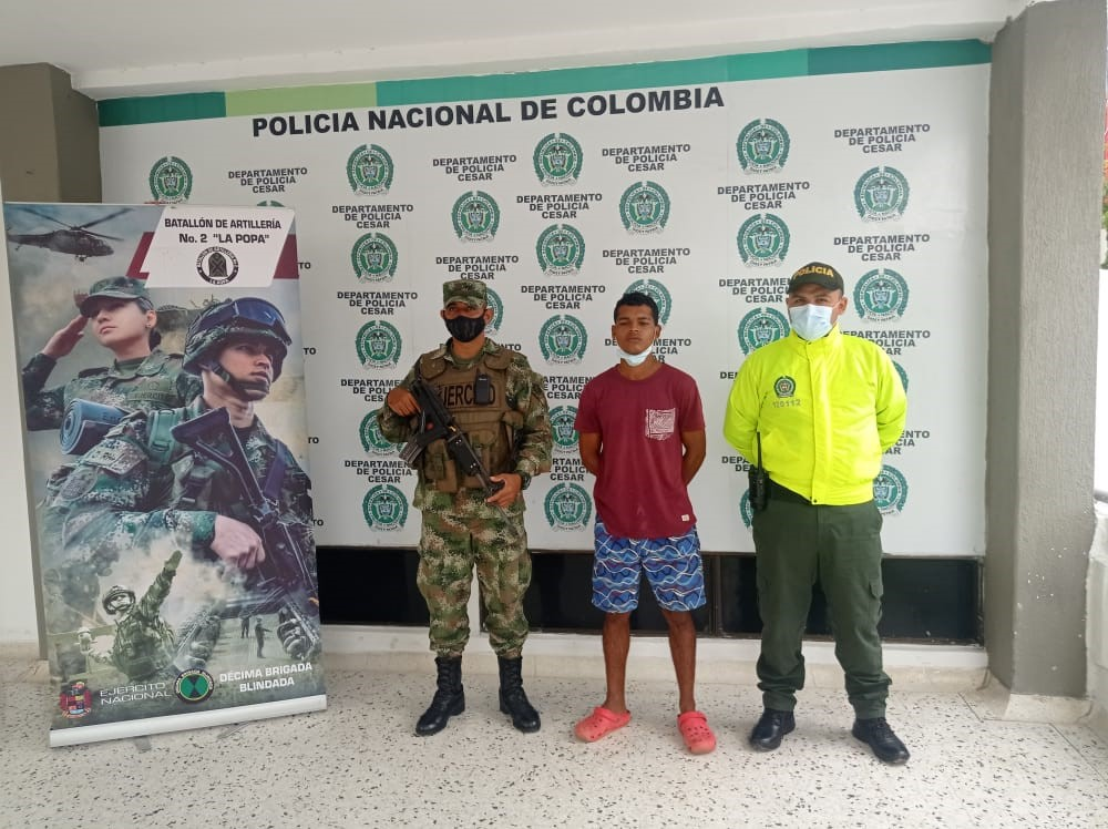 https://www.notasrosas.com/Por Hurto Calificado Agravado, es detenido en Valledupar,  por la Policía Cesar