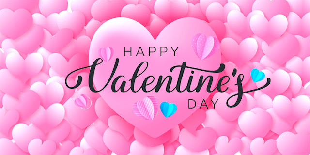 Valentine's Day pink hearts Image