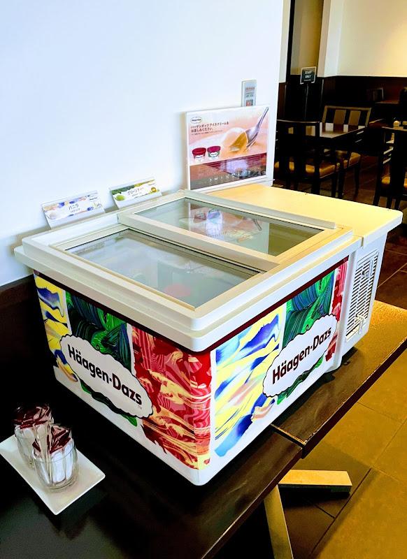 ラウンジでのアイス提供が始まっていました | 1レグ 東京(羽田)⇒沖縄(那覇) / JAL901【2021年の搭乗メモ】