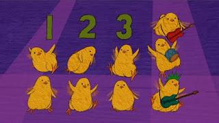 Twelve Little Chicks, Sesame Street Episode 4402 Don't Get Pushy season 44