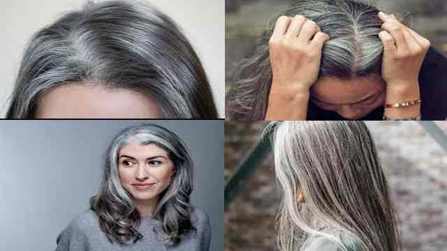 white hair treatment in Hindi homemade remedies