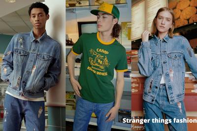 stranger things fashion