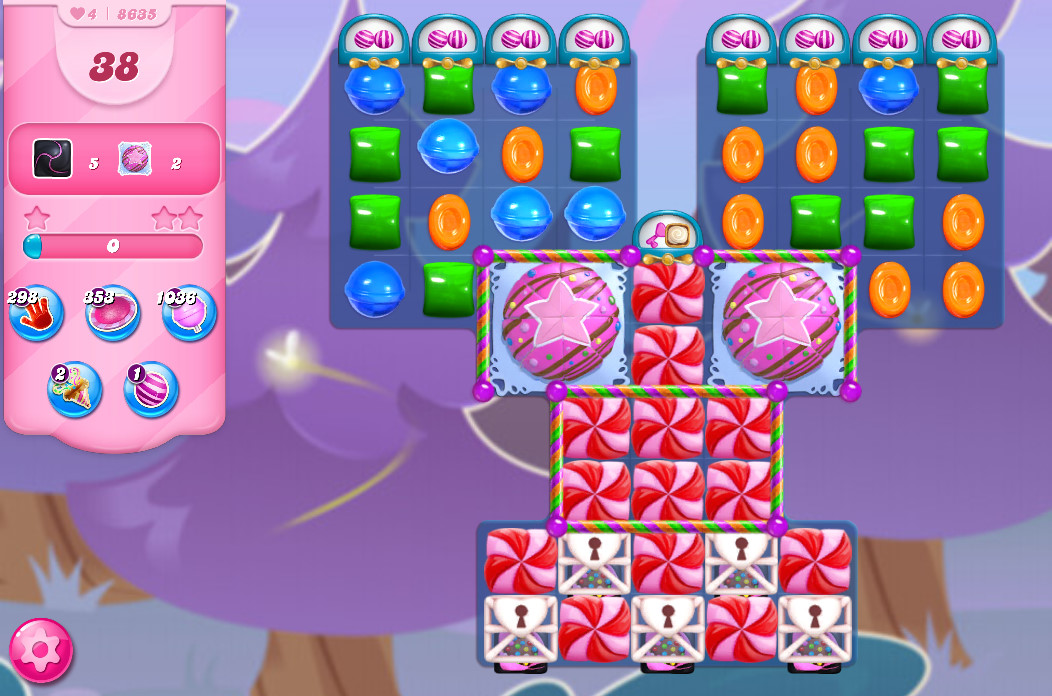 Candy Crush Saga level 8635