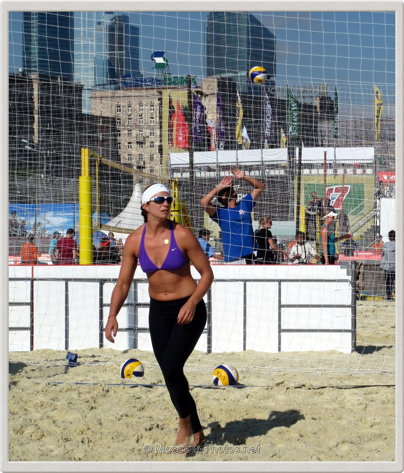 Misty May-Treanor (USA) at Grand Slam Moscow 2012