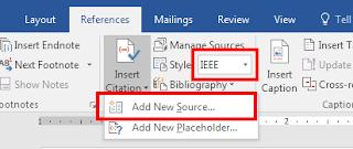Cara Membuat Daftar Pustaka Otomatis di Ms Word