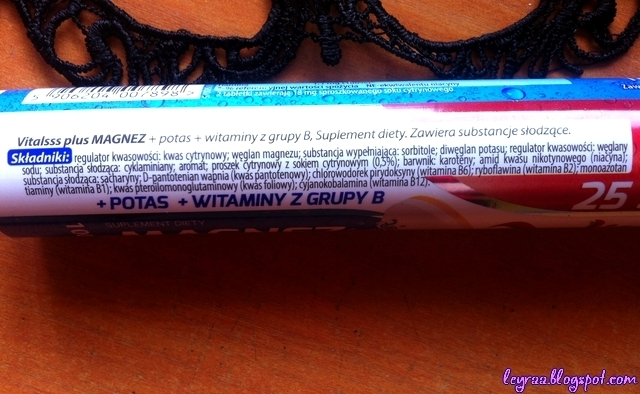Vitalsss plus suplement diety 25 tabletek musujących