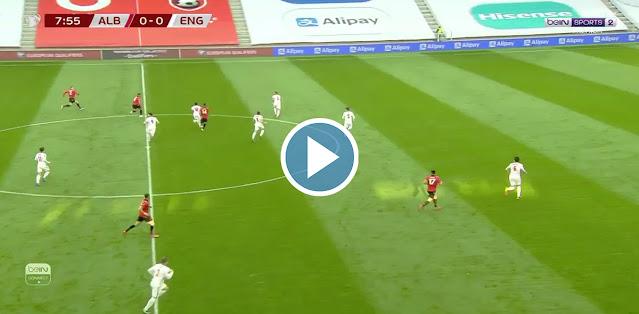 Albania vs England Live Score