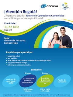 Estudia Técnico en operaciones comerciales en almacenes de cadena en Bogota