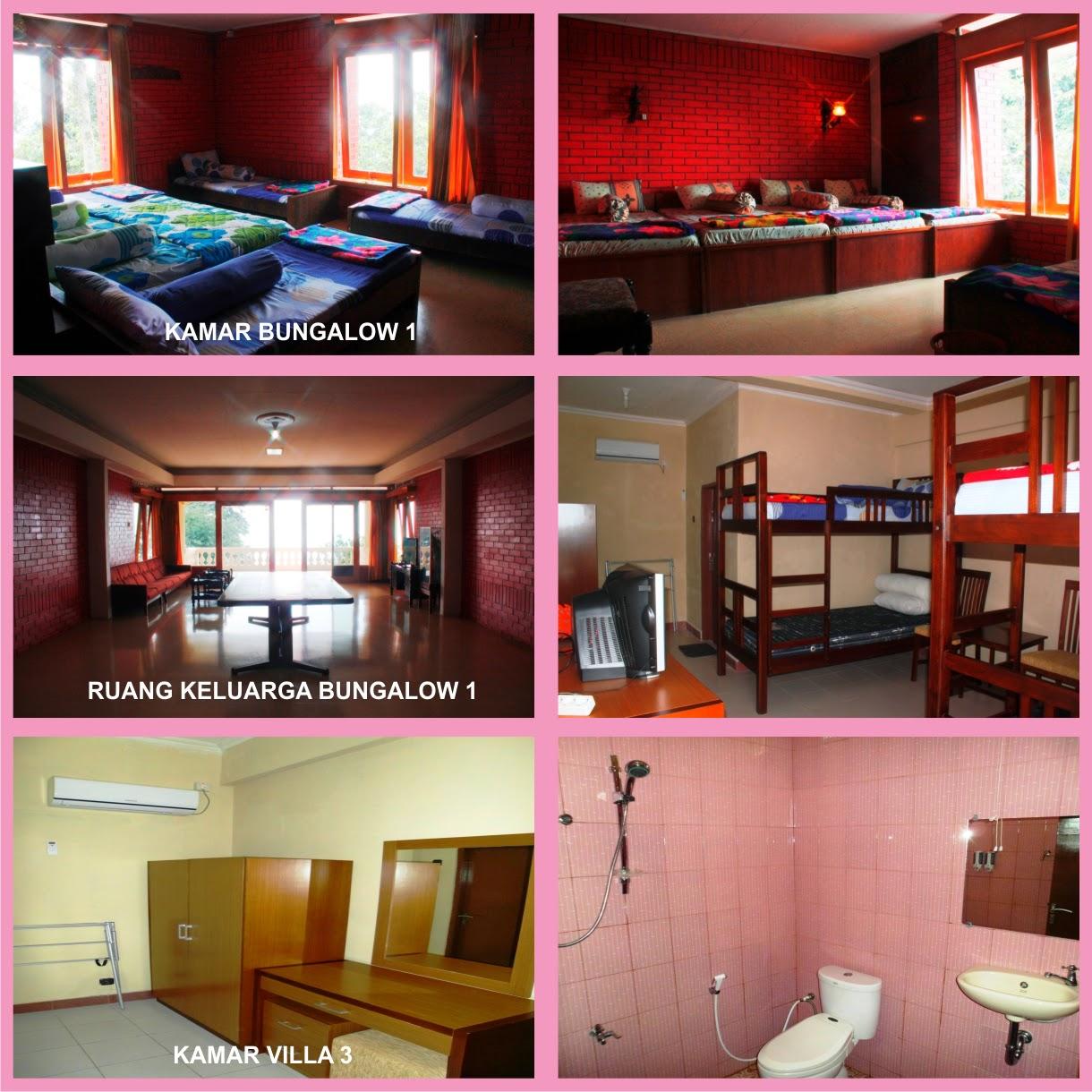Fasilitas Villa Bukit Hambalang Sentul Bogor