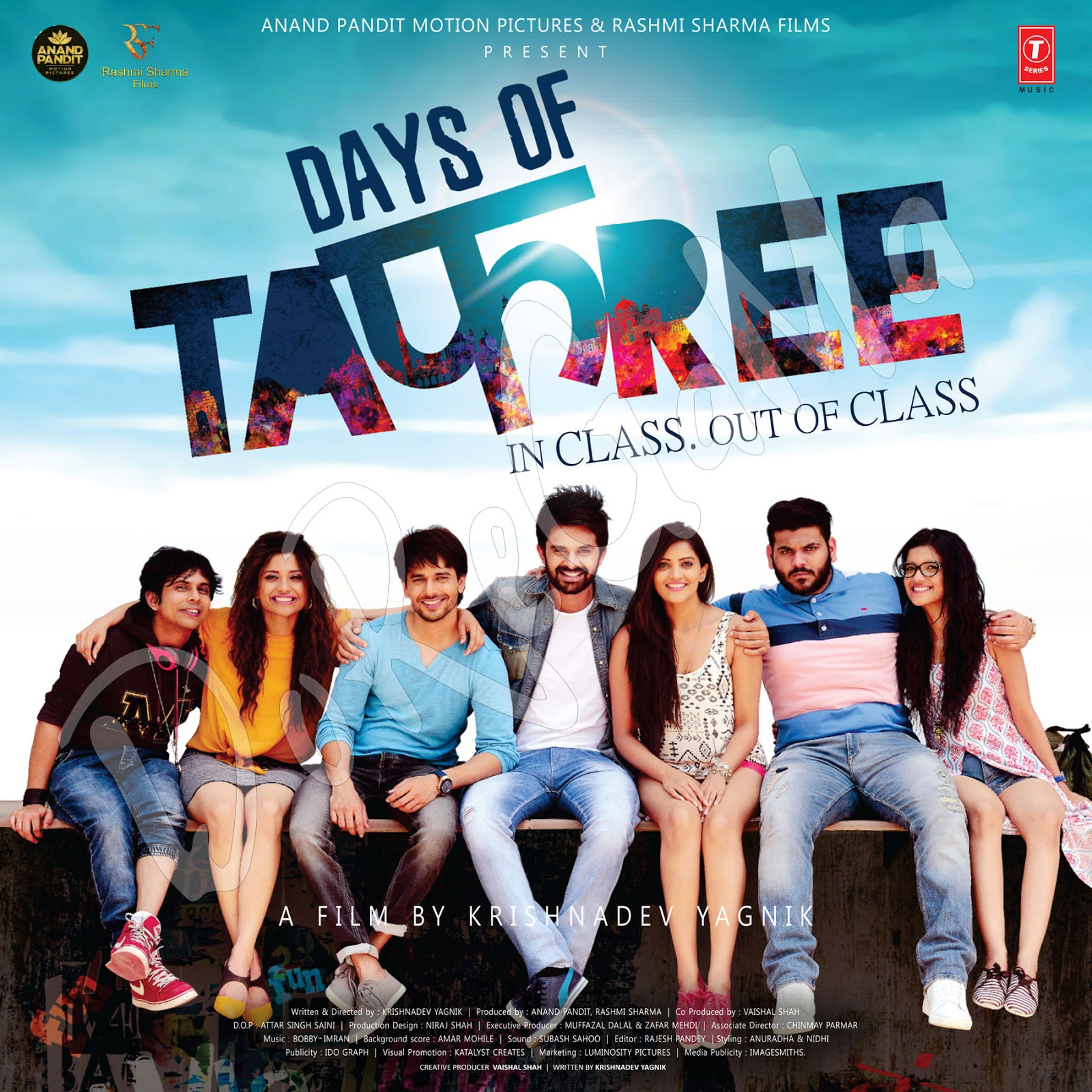 Days-Of-Tafree-2016-Hindi-Movie--CD-Front-Cover-Poster-Wallpaper-HD