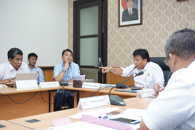 Sekda Minta Pertagas Sesuaikan Pengerjaan dengan Pembangunan SKTT