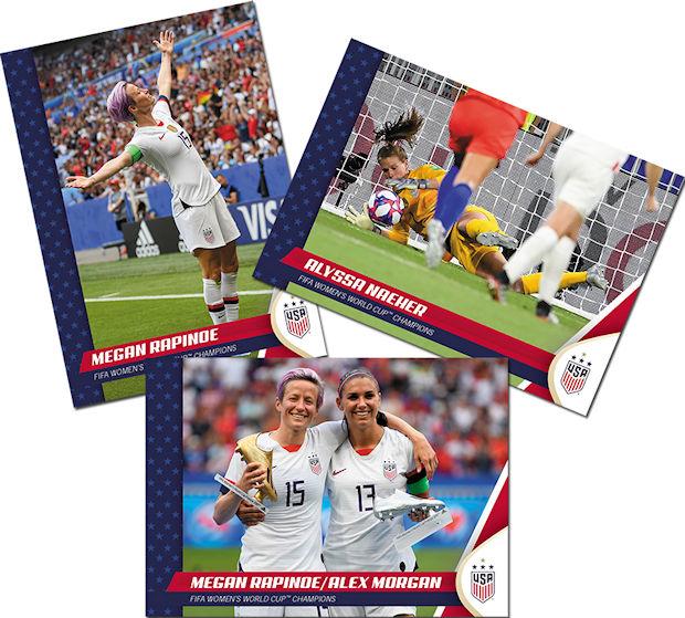 2018 Panini Instant USA Women's National Team Carli Lloyd olympic cards