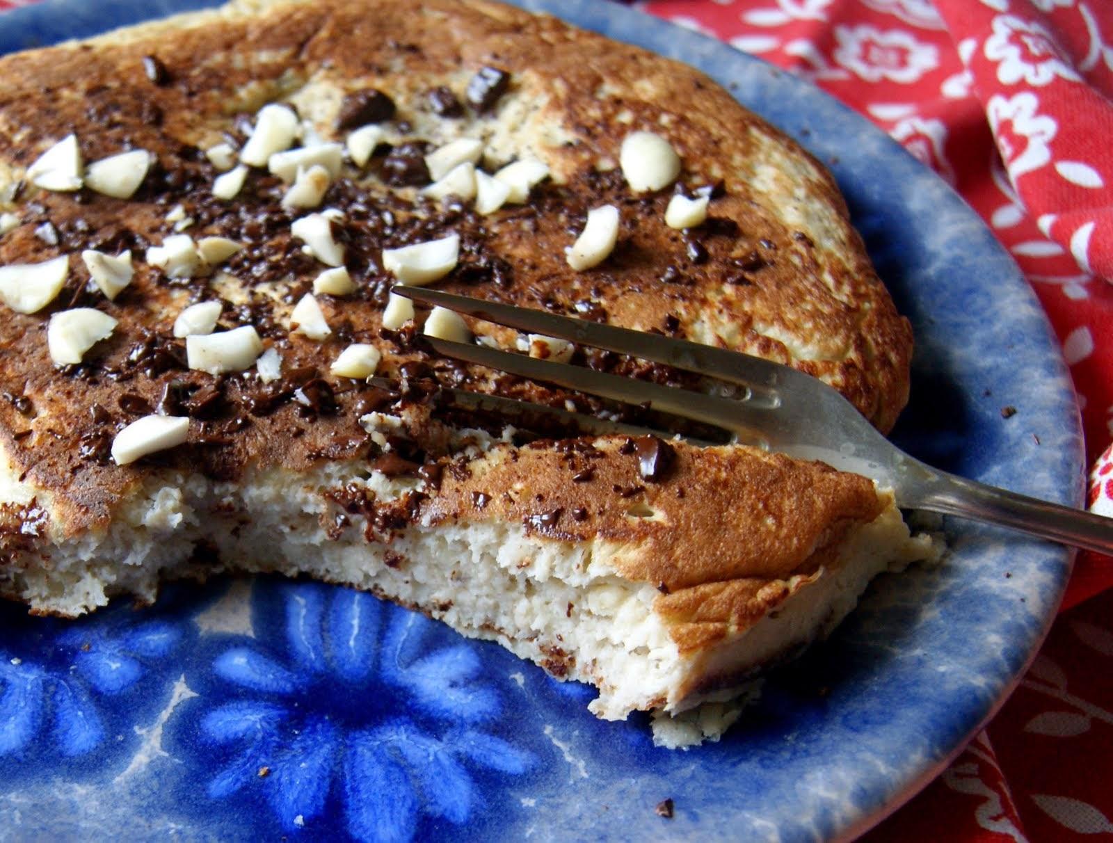 Omlet bananowy - dwie wersje