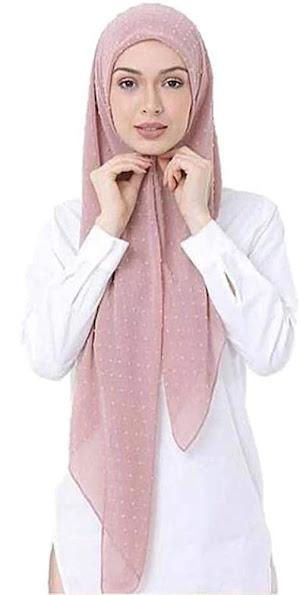 Bubble Chiffon Head Scarf Hijab