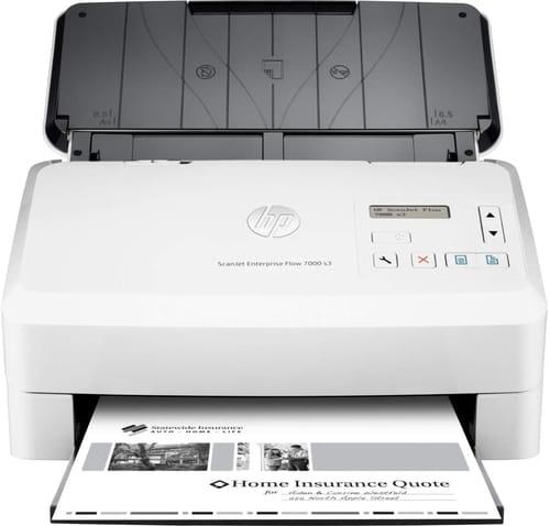 Review HP ScanJet Enterprise Flow 7000 s3