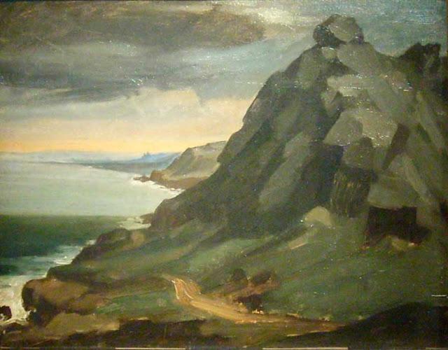 Жан Франсуа Милле - Скала в Кастель-Вендон. 1848
