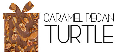 Caramel Pecan Turtle Chocolate Bark Recipe - gluten free, easy holiday recipes, food gift ideas, easy handmade gifts, DIY hostess gifts, gourmet homemade chocolates