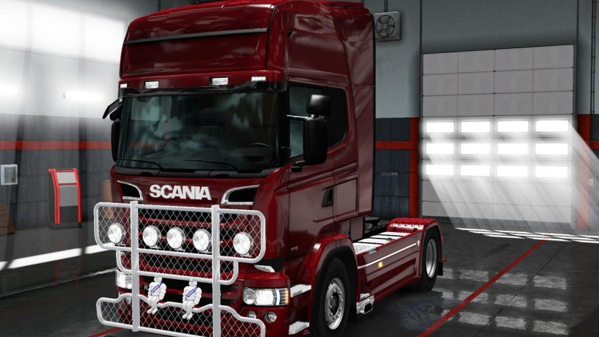Scania RJL Wrecker Bullbar