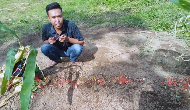 Makam Nanda Dwi Krisdianto