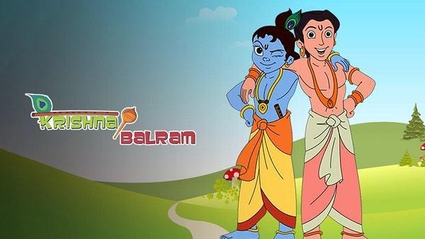 Krishna Balram Cartoon Show Timing on DD Free dish - Azad TV channel