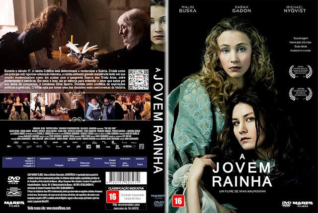 Capa DVD A Jovem Rainha [Custom]