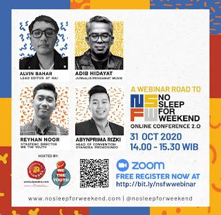 Angkat Optimisme Generasi Muda Indonesia melalui Konferensi Daring