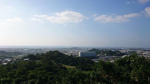 保栄茂グスクから見た景色の写真