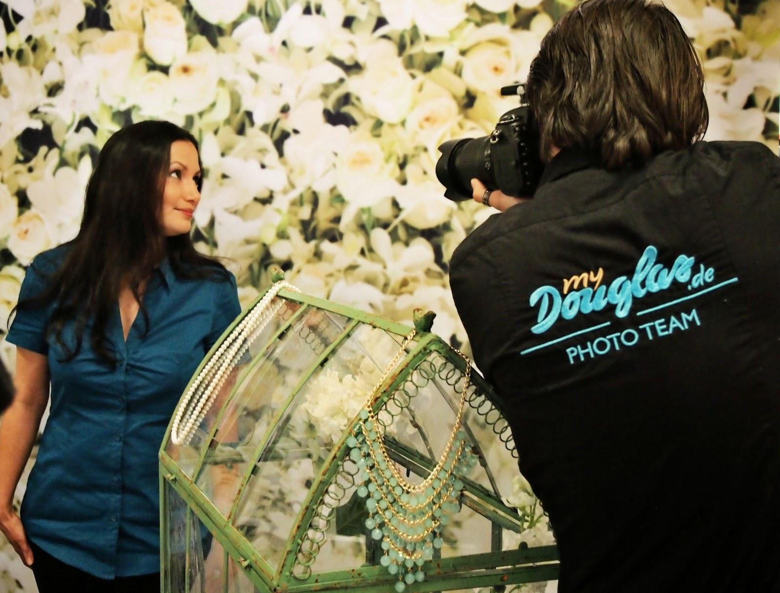 Shopping Monster Fotoshooting bei Douglas
