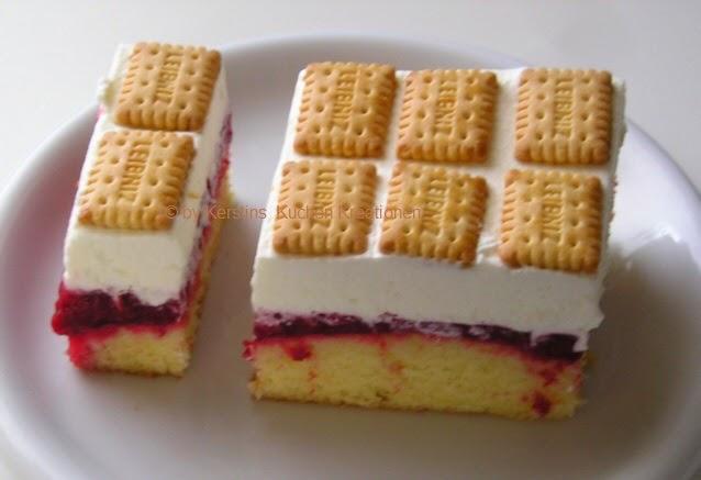 Kerstins Kuchen Kreationen Butterkekskuchen