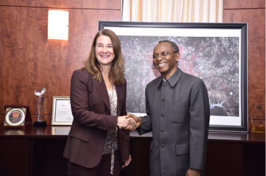Melinda Gates, Kaduna, El- Rufai