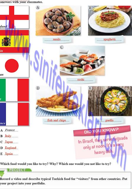 8. Sınıf Tutku Yayınları İngilizce Ders Kitabı Cevapları Sayfa 37