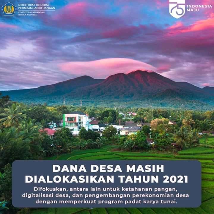 Fokus Yang Menjadi Prioritas Dana Desa  4 Fokus Yang Menjadi Prioritas Dana Desa 2021