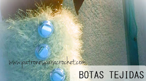 Botas crochet con suela de goma / Tutorial