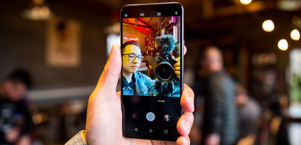 LG G7 ThinQ's 8MP Camera