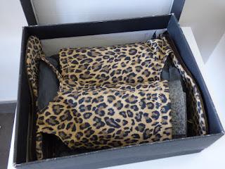 sandales leopard  american retro