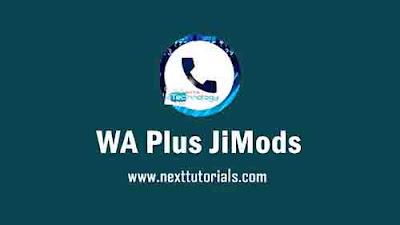 Download WhatsApp Plus JiMods v8.60 Apk Latest Version Android,Aplikasi JTWhatsApp v8.60 Terbaru 2020,tema wa plus jimod keren 2020,wa mod anti banned