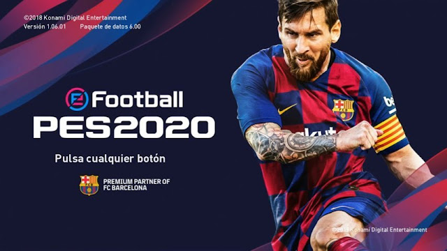 3c66095b0127 ... PES 2019 PES 2020 Graphic Menu For PES 2019 Features : New PES 2020  Start Screen New PES 2020 Backgrounds New PES 2020 Logos Download PES 2020  Graphic ...