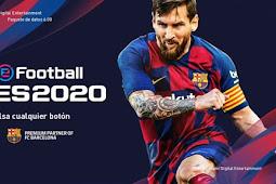 PES 2020 Graphic Menu For - PES 2019