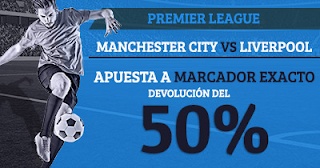 Paston promocion Premier League Manchester City - Liverpool 9-9