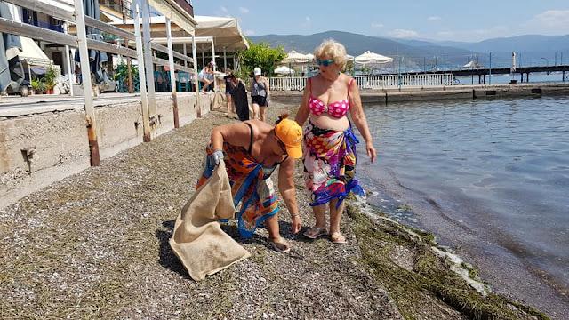 Ο καθαρισμός παραλίας στην Αγία Μαρίνα ολοκληρώθηκε με επιτυχία!